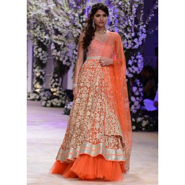 Designer wedding lehengas online shopping global sources for Design online shop