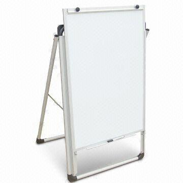 china portable adjustable whiteboard easel with anodized aluminum frame - Whiteboard Easel