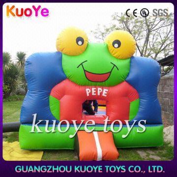 Inflatable Frog Bounce Housecommercial Moon Housebouncy Moon House