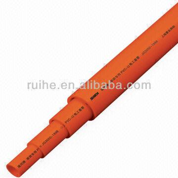 ISO standard PVC conduit for electric wire production pipe | Global ...