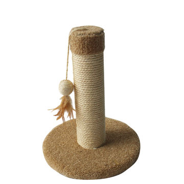... China Carpet Cat Tree Single Cat Scratching Post