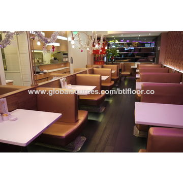 China PVC flooring vinyl floor with wear resistance of group T for coffee shop