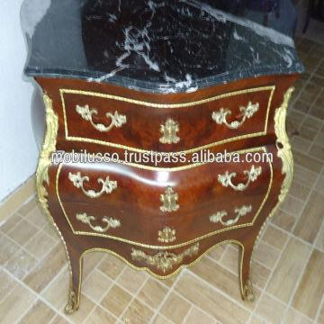 Egypt Commode French Antique Furniture Reproductions Style Chest Of Drawers