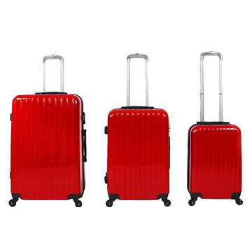 fdbea303084 China Polo ABS PC Hard Shell Travel Trolley Luggage Set from ...