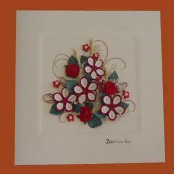 Christmas quilling greeting cards Vietnam Christmas quilling greeting cards