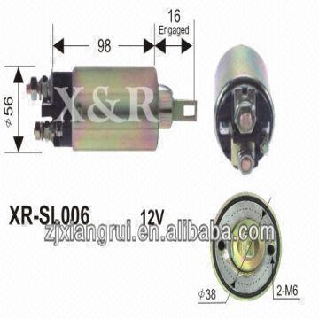 WAI 66-8363 Starter Solenoid NOS