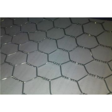 Stainless Steel Hexagonal-shaped Wire Mesh, Solid Structure, Surface ...
