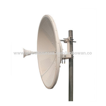 China Wifi MIMO Dish Parabolic Antenna from Foshan