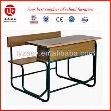 Use China Double Seater Student Desk ,children Study Table And Chair  1.School Furniture Manufacture