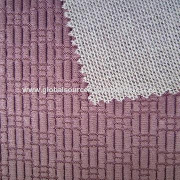 China Maze Corduroy Tc Bonded Sofa Upholstery Fabric