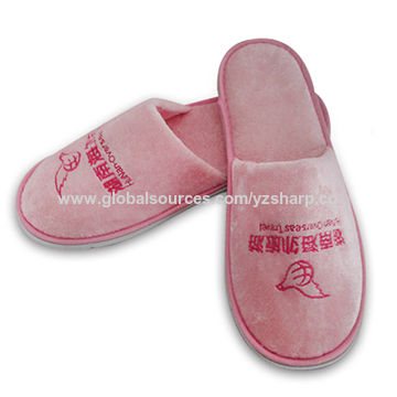 TEXU 10 Pair Hotel Travel Spa Disposable Slippers Home Guest Slippers white. Source · China