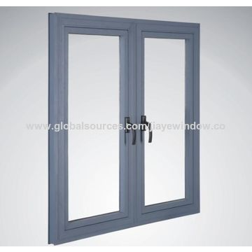 china aluminium vertical casement window design double g from