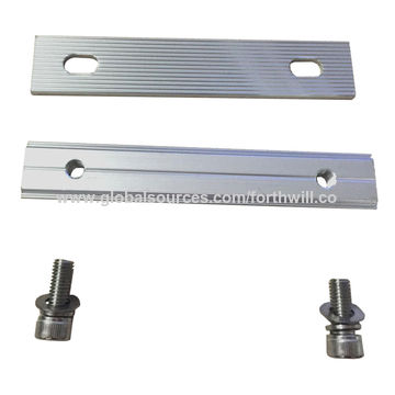 Length Depends On Customized AL6005-T5 Solar Panel Mounting Rails