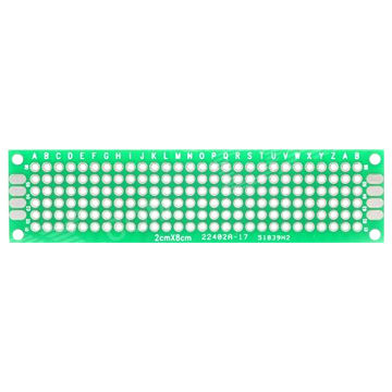 PCB Layout Phone Keyboard, Green Double-sided, 70um Copper | Global