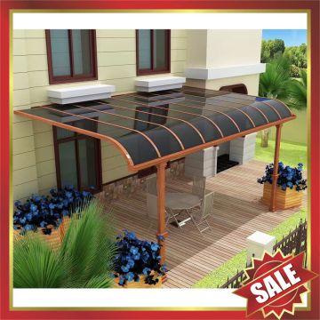 Aluminium Canopy Awning Porch Patio Gazebo Polycarbonate For Garden