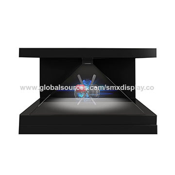 China 270 degree 3d holographic display pyramid stand