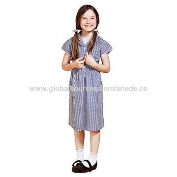 f77d7fe27e8 Girls  Classic Summer Gingham Dress China Girls  Classic Summer Gingham  Dress