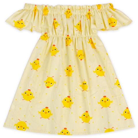 691a986eb53 China Fluffy Cap Off Shoulder Dress Wholesale Summer Dresses Fashion Kids  Party Wear Dresses ...