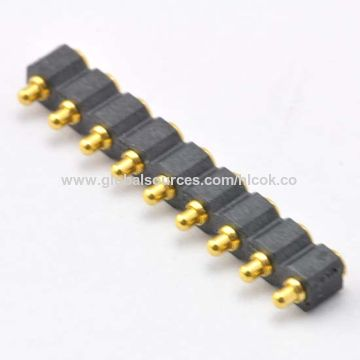 China Pin Headers with Tin-plated Finish, Made of Phosphor Bronze, SGS Certified