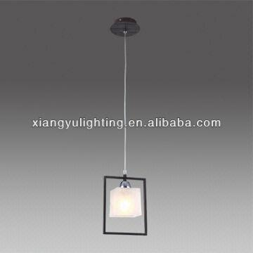 China Modern Designer Square Glass Pendant Lighting