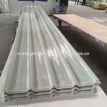 Clear Plastic Corrugated Frp Transparent Roofing Sheet Global Sources