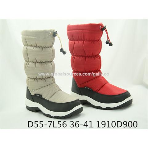 warm anti-slip snow boots for ladies
