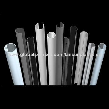 2661d99493c China Polycarbonate PMMA housing tube for LED lighting