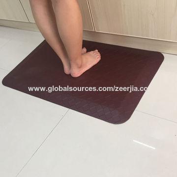 China Pu Foam Anti Fatigue Mat Home Use Mat Kitchen Anti Fatigue Mat