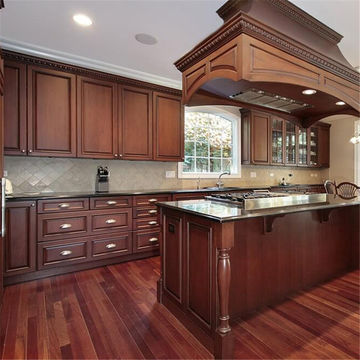 China Modern Solid Wood Kitchen Cabinets For Sale On Global Sources Wooden Cabinets Modern Kitchen Cabinet Kitchen Cabinet Sale