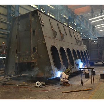 China steel, fabrication, frame, bending, welding from