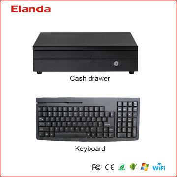 Elanda touch screen POS terminal price J1900 Quad-core 2 0GHz CPU