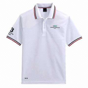 Sport Polo Shirt Design | China Dry Fit Men S Sports Top Polo Shirt Design Made Of White