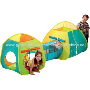 ... China Nylon UV 50+ Foldable Play Tent and Tunnel  sc 1 st  Global Sources & Nylon UV 50+ Foldable Play Tent and Tunnel Lightweight | Global Sources