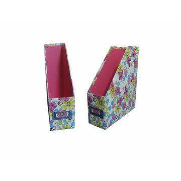 Cardboard Magazine Holder Cardboard Magazine Holder Floral Patterned Global Sources 13
