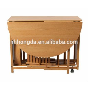Indoor Furniture Wooden Folding Dining Table Designs 1