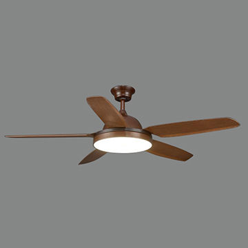 42 Inch Four Blades Indoor Ceiling Fan With Light Item Wood Blades Global Sources