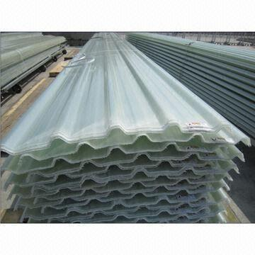 Frp Skylight Roof Panel With Transparent Opaque And High