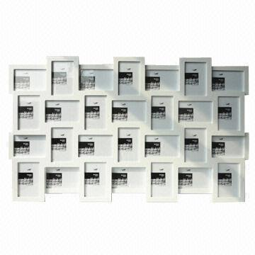 Exclusive multi-aperture photo frame with 28 holes | Global Sources