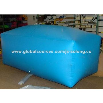 China Pvc Reinforced And Portable Water Bag Inflatable Bladder Wear Resistant Waterproof