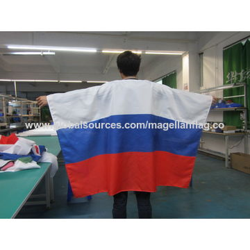 China Custom print polyester sports event promotion body wear flags