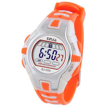 China Lady fashion digital sport watch with stopwatch, alarm, time display functions