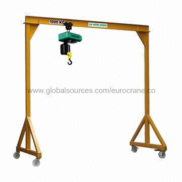 Manual Gantry Crane, IPE Profile, Movable Lifting Solutions, Safe and Efficient, Low Investment ...