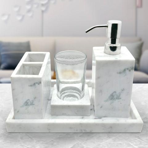 Marbel Bathroom Accessory Sets, Marble Bathroom Accessories Sets