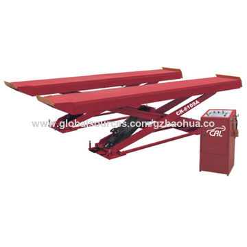 Car lifts type special advauled scissor lift with CE