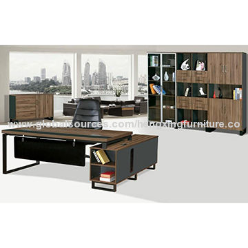 China Executive Office Table Italy Design Wooden Furniture
