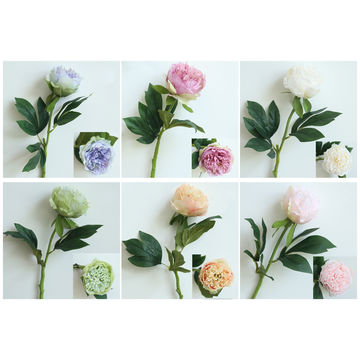 China Peony Silk Artificial Flowers From Fuzhou Wholesaler