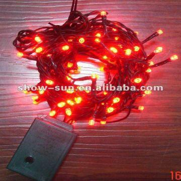 120 LED Chasing Christmas Lights Indoor Lights Red | Global Sources