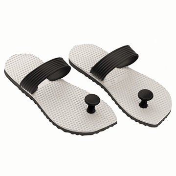 e9d84d6af55 India Lightweight rubber sandals with acupressure point sole