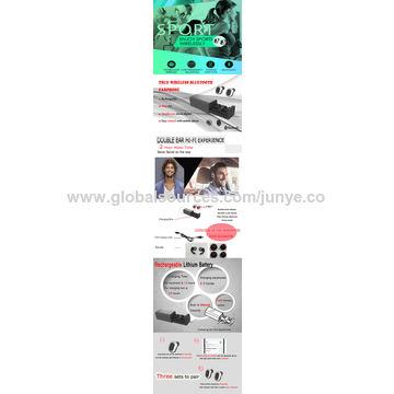 China Original V4.0 Hands Free Mini In-ear True Wireless Bluetooth Earphone