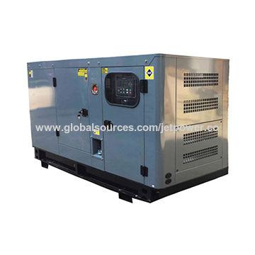 60kVa silent diesel generator Cummins 4BTA3 9-G11 diesel engine